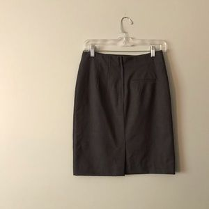 H&M Skirts - H&M Charcoal Pencil Skirt with Back Pocket